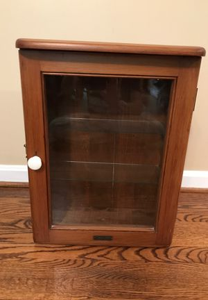 Antique wall mounted cabinet for Sale in Fairfax, VA