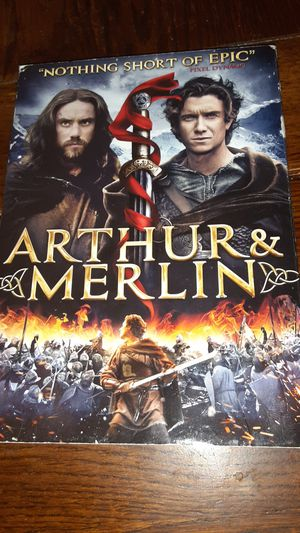 Arthur and merlin dvd for Sale in Grand Saline, TX