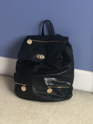 Black sequin backpack for Sale in Avon, OH