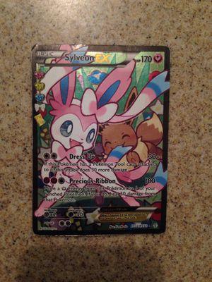 Pokemon Basic Sulveon Ex for Sale in Fresno, CA