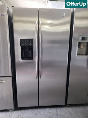 🚚💨Side by Side GE Refrigerator Fridge Works Perfect #1156🚚💨 for Sale in Ontario, CA