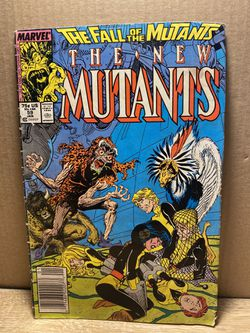 The New Mutants #59 (Jan 1988 Marvel) Fall of the Mutants Near Mint for Sale in San Angelo,  TX