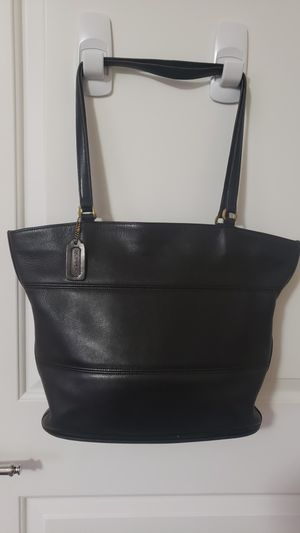 Vintage Coach Shopper Leather Tote for Sale in Roseville, CA