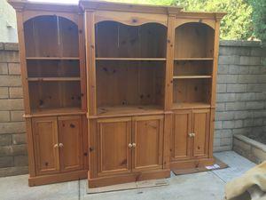 Entertainment Center-3 Pieces for Sale in Rancho Santa Margarita, CA