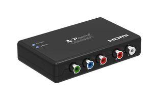 Portta Component to HDMI Converter, Portta YPbPr Component RGB + R/L A for Sale in Brooklyn, NY