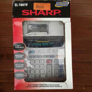 Sharp Electronic Printing Calculator for Sale in Queens, NY