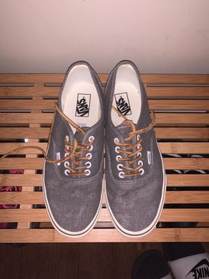 Barley worn size 10 grey vans for Sale in Elkridge, MD