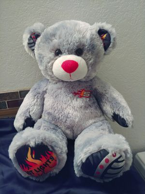 Build-a-Bear Hot Lights Flame Teddy. for Sale in Chandler, AZ