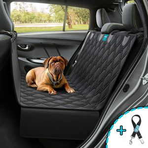 Brand New !! Dog car seat cover heavy duty waterproof material washable luxury stylish seat belt leash INCLUDED for Sale in Brooklyn, NY