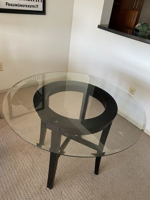 Glass dining table for Sale in Boston, MA