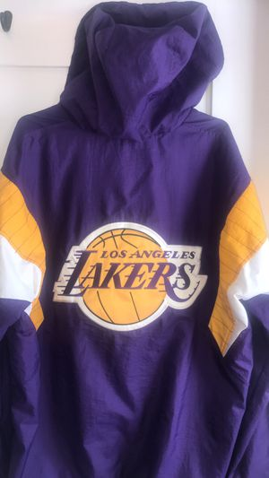 Lakers starter jacket size large for Sale in Los Angeles, CA