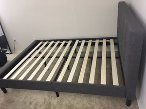 Queen size bed frame and mattress for Sale in Falls Church, VA