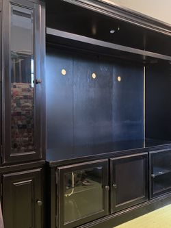 Solid Wood Legacy Entertainment Center for Sale in Houston,  TX