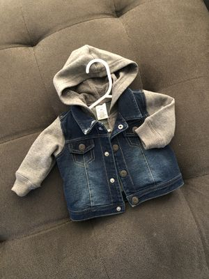 0-9 months baby jacket, cute jeans jacket for Sale in Shoreline, WA