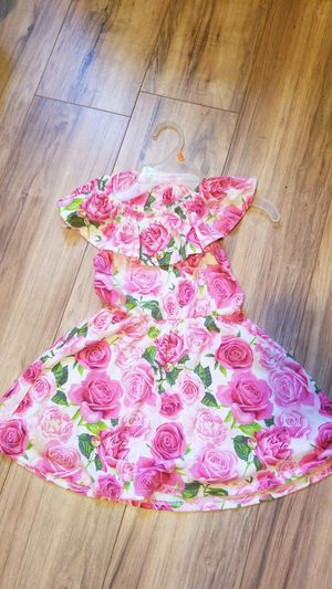 Girl's pink flower dress for Sale in Los Angeles, CA