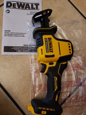DEWALT ATOMIC 20-Volt MAX Brushless Compact Reciprocating Saw (Tool-Only)PRECIO FIJO for Sale in Anaheim, CA