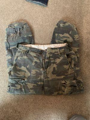 Fashion nova utility camo pants for Sale in Portland, OR