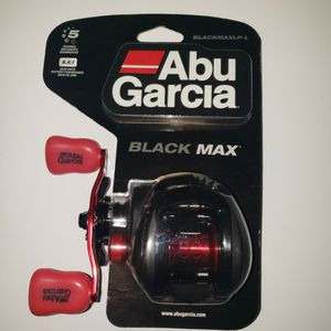 Abu Garcia Black Max Baitcasting Reel for Sale in Damascus, OR