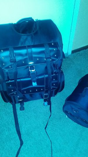 2 piece waterproof motorcycle luggage Set for Sale in OH, US