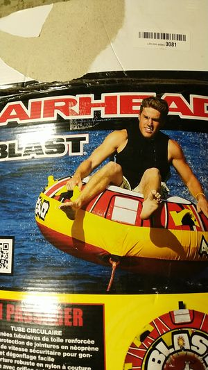 Airhead Blast tube water toy with harness for Sale in Los Gatos, CA