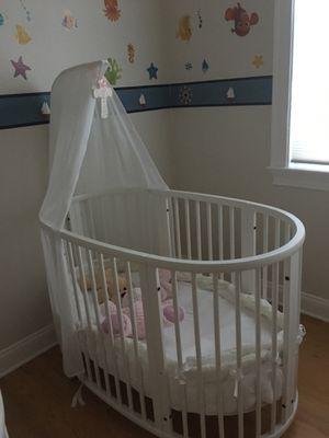 Stokke baby crib for Sale in Tampa, FL