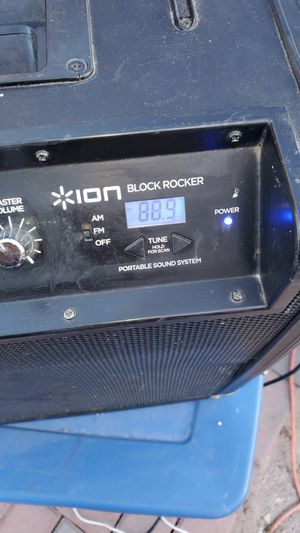Ion Block Rocker portable sound system for Sale in North Las Vegas, NV