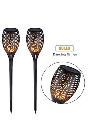 Solar Lights Outdoor, Lawn Torch Lights LED Waterproof with Flickering Flame for Garden Pathway (2 Pack) New for Sale in Silver Spring, MD