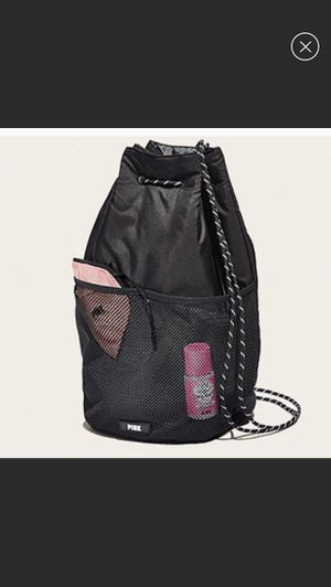 Victoria Secret Pink Drawstring backpack in Black for Sale in The Bronx, NY