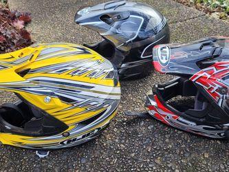 3 Helmets for Sale in Dayton,  OR