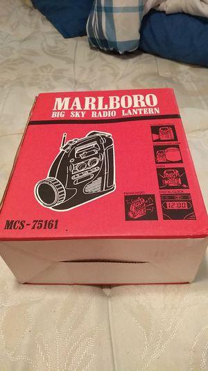 Marlboro Big Sky Radio Lantern MCS -75161 for Sale in Indianapolis, IN