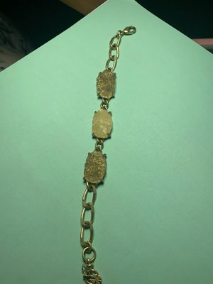 Gold metal designs with quartz for Sale in Fresno, CA