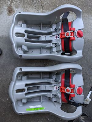 Two Graco Snugride Classic Connect 35 Car Seat Bases for Sale in Seattle, WA