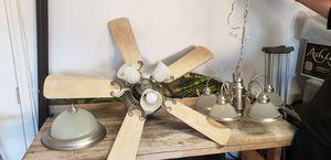 Ceiling fan, chandelier and ceiling lamp for Sale in Las Vegas, NV