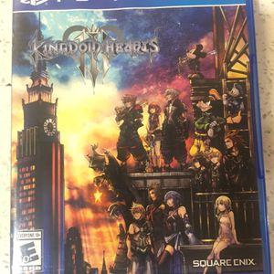 Kingdom Hearts 3 PS4 for Sale in Dallas, TX
