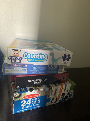 Assorted Puzzles & Learning Games for Sale in Molalla, OR
