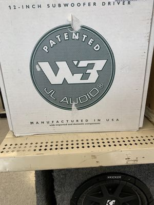 "JL Audio single car speaker (12"") for Sale in Austin, TX"