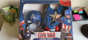Captain America Top & Mask for Sale in Colma, CA