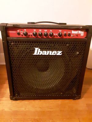 Used 80 Watt Ibanez Soundwave Bass Amp for Sale in Charlottesville, VA