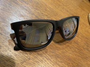 Rayban Justin Black Rubber sunglasses for Sale in Newark, CA
