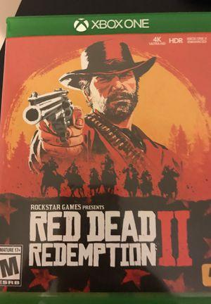 Red dead redemption 2!! for Sale in Gaithersburg, MD