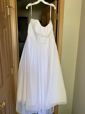 David's Bridal wedding dress for Sale in Canal Winchester, OH