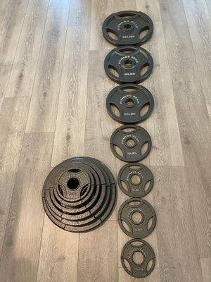 255LB Olympic Weight Set Fitness Gear - New! for Sale in Irvine, CA