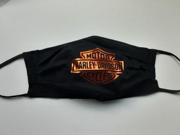 Harley davidson motorcycles face mask covering