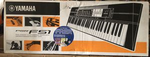 Yamaha keyboard F51 for Sale in Covina, CA