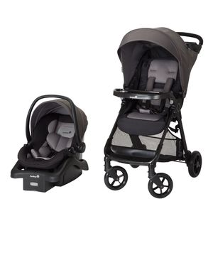 Safety 1st Smooth Ride Travel System with Infant Car Seat for Sale in Bowie, MD