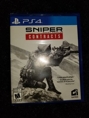 Sniper Contracts PS4 for Sale in Aurora, CO