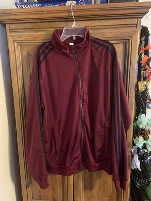 Adidas track jacket size MEDIUM in MEN for Sale in Stockton, CA