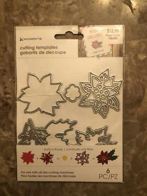 Poinsettia cutting template for Sale in HOFFMAN EST, IL
