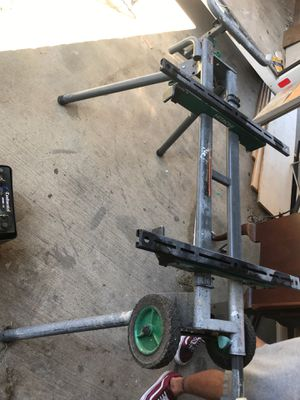 Hitachi table saw stand for Sale in Allen, TX