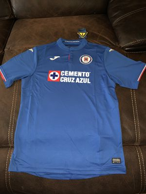 Cruz Azul Jersey new with tags size is xl for Sale in Perris, CA